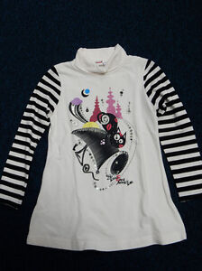 iDo by Miniconf girl's 3/4 length sleeved tshirt. Age 8 years.