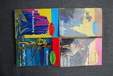 4 Bücher - KARL MAY Ausgabe Oberfläche glatt Winnetou, Schut, Felsenburg, Kurdis