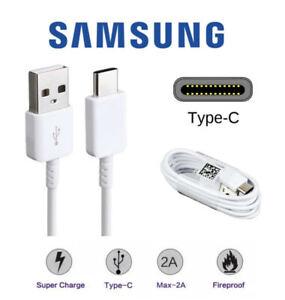 Original Samsung Galaxy S20 FE Schnell Ladekabel USB-C Type C Datenkabel weiß
