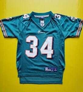 Miami Dolphins Ricky Williams Football Jersey Youth Reebok NFL Size Small