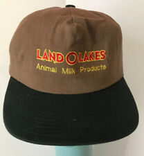 Vintage Land O Lakes Animal Milk Products Strapback Advertising Embroidered Hat