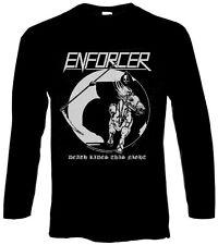 ENFORCER - Death Rides This Night - Longsleeve Longarm Shirt - Größe Size L