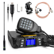 QYT 980PLUS 75W/VHF 55W/UHF Dual Band Ham Car Transceiver Walkie Talkie+ Gift