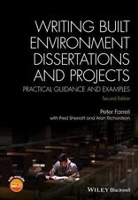 WRITING BUILT ENVIRONMENT DISSERTATIONS AND PROJECTS - FARRELL, PETER, DR./ SHER
