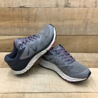 New Balance Womens 840 V4 Running Shoes Gray Pink W840GO4 Low Top Lace Up 7.5 B