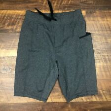 Lululemon Lounge Side Pocket size M Heathered Black Men's Shorts