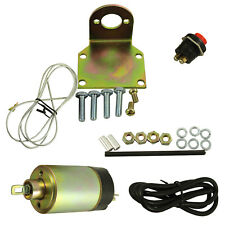 With hardware Trunk Solenoid Popper Street Rod Shaved Door Handle 80 Pound Kit