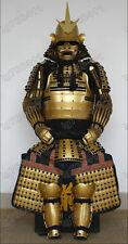 Iron & Silk Japanese wearable Rüstung Samurai Armor Golden color
