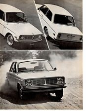 1968 VOLVO 142S ~ ORIGINAL 4-PAGE ROAD TEST / ARTICLE / AD