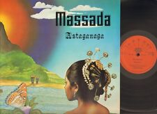 MASSADA  ASTAGANAGA 1978 LP foc GATEFOLD Latin World NEDERPOP