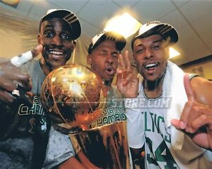 Pierce Garnett Allen 07 08 Champions locker room  8x10 11x14 16x20 photo 410