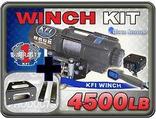 4500 lb KFI Winch Combo Polaris RZR RZR-S RZR 4 800 2008-2014 RZR 570 2012-2015