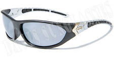 Men's Designer X Loop Sunglasses XL15703 UV400 Davis G7 mirrored black sunnies