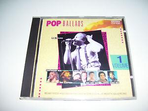 Popballads Volume 1 * ARCADE CD HOLLAND 1989 * Pop Ballads