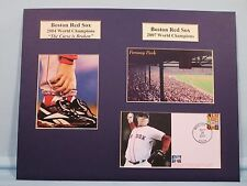 Red Sox & Curt Schilling - 2004 and 2007 World Champs & Commemorative Cover