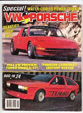Feb 1983 VW & Porsche ARGUS Magazine Beetle Porsche 911SC Rabbit Jetta Audi 4000