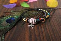 Women's Adjust Leather Jewelry Wristband Handmade Charm Bracelet Gift Fashion