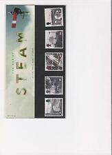 1994 ROYAL MAIL PRESENTATION PACK AGE OF STEAM RAILWAYS MINT DECIMAL STAMPS