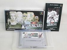 FRONT MISSION GUN HAZARD Super Famicom Nintendo SFC Japan Import Game sf