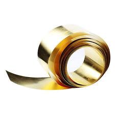 Brass Sheet Foil Thin Plate 0.02x100x1000mm Handicraft Handmade Metal Arts Decor