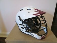 Cascade Clh2 Lacrosse Helmet White & Maroon Adjustable Spr-Fit Size Xxs-Lowest $