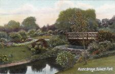 Rustic Bridge In The Park, DULWICH, London