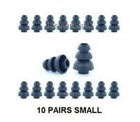 Earbud Tips Replacement  Noise Cancellation  Size Small 10 Pairs Triple Flange