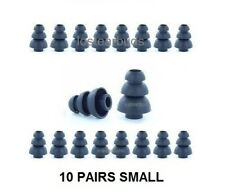 Earbud Tips Replacement Noise CANCELLATION Size Large 10 Pairs Triple Flange