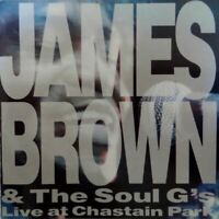 JAMES BROWN & THE SOUL G'S live at chastain park (CD album) very good condition