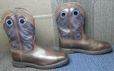 Mens ARIAT Groundwork Waterproof Steel Toe Leather Work Boot sz 12 EE