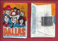 1981 Donruss Dallas single Wax Pack