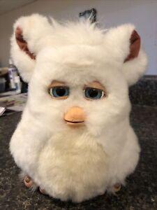 Vintage Furby Snowball White 59294 Tiger Electronics 2005 Hasbro works!! read!!