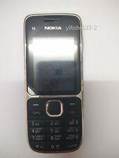 Original Unlocked Black Nokia C2-01 3G Arabic Keyboard Mobile GSM WCDMA Phone