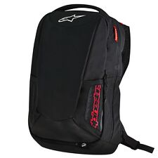 Alpinestars City Hunter Aerodynamic Motorcycle Riding 25L Backpack Black/Red