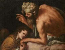 Peintures et émaux du XIXe siècle et avant sur toile religion, mythologie