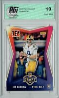 Joe Burrow 2020 Panini Instant #1 NFL Draft 8,156 Made Rookie Card PGI 10