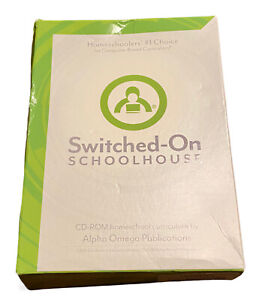 SOS Switched On SCHOOLHOUSE HIGH SCHOOL HEALTH Christian Homeschool Software