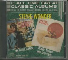 Stevie Wonder –My Cherie Amour/Signed, Sealed...- Early Tamla CD, Japan Disc