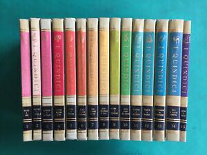 I QUINDICI prima edizione 1964. COMPLETA ed OTTIMA  Enciclopedia come e perchè