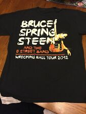 Bruce Springsteen And The E Street Band Wrecking Ball Tour T-shirt Preowned