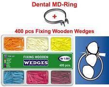400 Pcs Dental Full Set Of Fixing Wooden Wedges Md Ring As Palodent V3 X