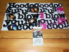 HOODOO GURUS - BLOW YOUR COOL / GERMANY-LP 1987 MINT- & KONZERTTICKET & INLET