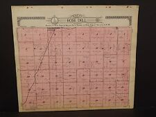 Minnesota Rock County Map Rose Dell Township  1914   Y13#46
