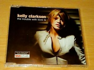 KELLY CLARKSON THE TROUBLE WITH LOVE IS CD 2003 VGC.