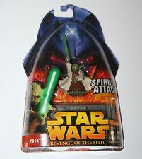 Star Wars ROTS Figure - YODA 'Spinning Attack!' #26