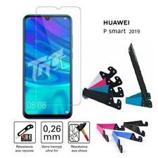 Film protège Verre Ecran anti choc accessoire support table Huawei P Smart 2019