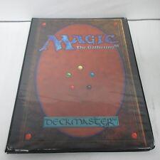 MTG Magic the Gathering Card Back 9 Pocket Binder Used