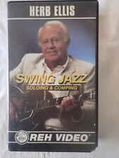 Vintage Reh Video Vhs Tape Lesson Herb Ellis Swing Jazz Soloing & Comping