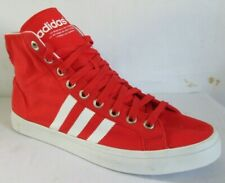 Adidas Courtvantage Mid Red Men  Walking Shoes 11