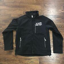 B. Tuff Jeans Western Microfiber Soft Shell Outerwear Jacket Men's Medium Black